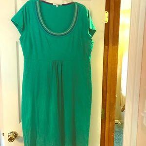 BODEN Short-Sleeved Jersey Dress